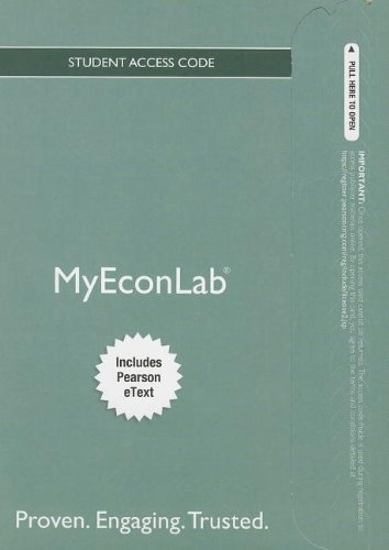 9780132969697: NEW MyEconLab with Pearson eText -- Access Card -- for Economics Today (MyEconLab (Access Codes))