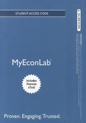 9780132971034: NEW MyEconLab with Pearson eText -- Access Card -- for The Economics of Money, Banking and Financial Markets, Business School Edition (MyEconLab (Access Codes))