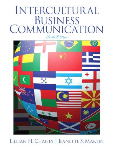 9780132971270: Intercultural Business Communication (6th Edition)