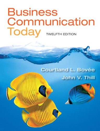 9780132971294: Business Communication Today (12th Edition)