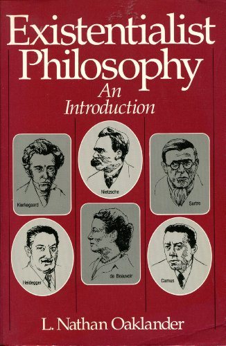 9780132972192: Existentialist Philosophy: An Introduction