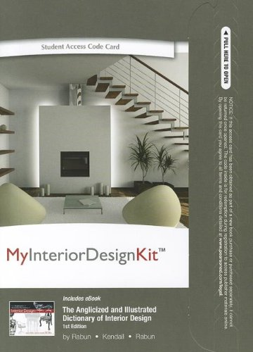 9780132973458: Myinteriordesignkit with Pearson Etext -- Access Card -- For the Anglicized and Illustrated Dictionary of Interior Design