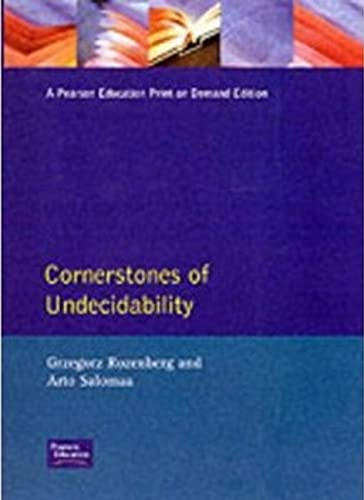 9780132974257: Cornerstones of Undecidability C (Prentice Hall International Series in Computer Science)