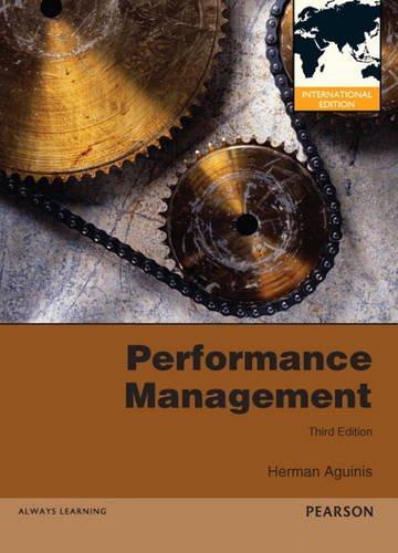 9780132974356: Performance Management