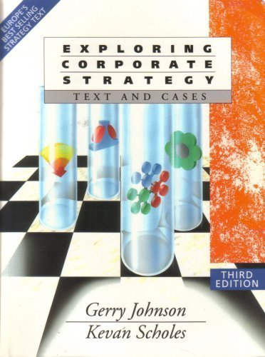 9780132974417: Exploring Corporate Strategy: Text and Cases/College