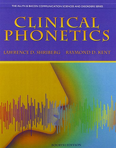 9780132978019: Clinical Phonetics and Audio CDs (Allyn & Bacon Communication Sciences and Discorders)