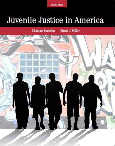 9780132978309: Juvenile Justice In America (7th Edition)