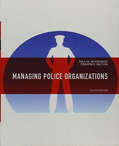 9780132978316: Whisenand: Managin Police Organiz _8 (8th Edition)
