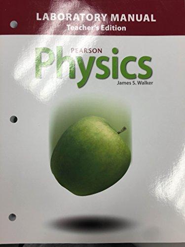 Pearson Physics Laboratory Manual Teacher's