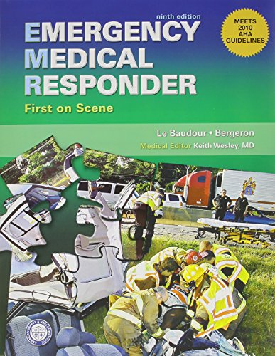 9780132978606: Emergency Medical Responder: Text and Workbook Pkg