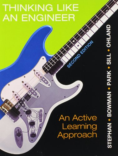 9780132981385: Thinking Like an Engineer: An Active Learning Approach and MyEngineeringLab Package (2nd Edition)