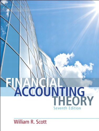 Financial Accounting Theory 7e (O): Scott, William R.