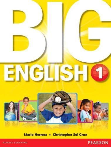9780132985543: Big English 1
