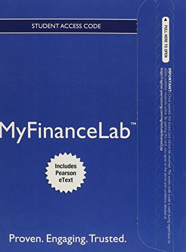 9780132986199: MyLab Finance with Pearson eText -- Access Card -- for Personal Finance