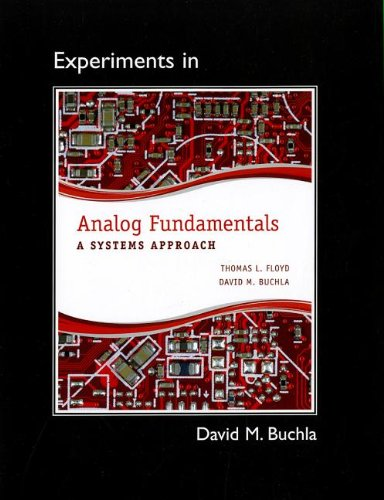 9780132988674: Lab Manual for Analog Fundamentals: A Systems Approach