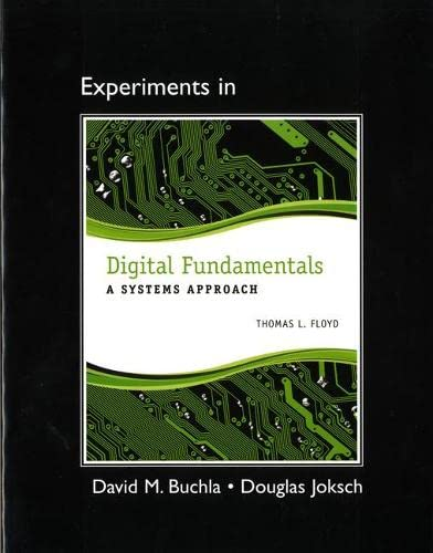 9780132989848: Lab Manual for Digital Fundamentals: A Systems Approach