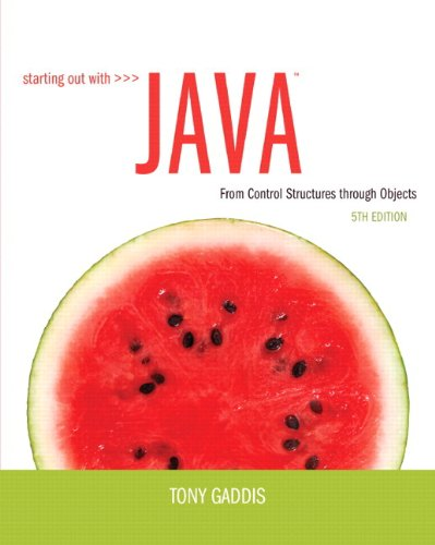 9780132989992: Starting Out with Java: From Control Structures through Objects plus MyProgrammingLab with Pearson eText -- Access Card Package (5th Edition)