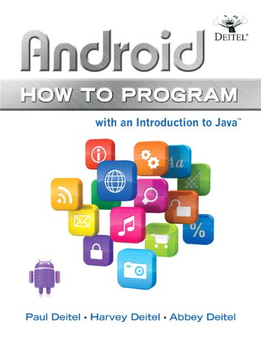 9780132990547: Android How to Program (How to Program Series)