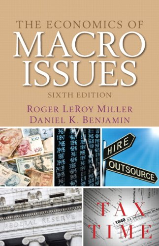9780132991285: The Economics of Macro Issues (6th Edition) (Pearson Series in Economics (Paperback))