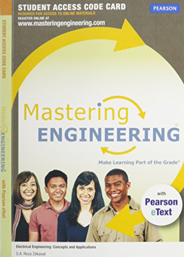 9780132991353: MasteringEngineering with Pearson eText -- Access Card -- for Electrical Engineering: Concepts and Applications