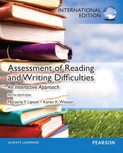9780132993005: Assessment of Reading and Writing Difficulties: An Interactive Approach