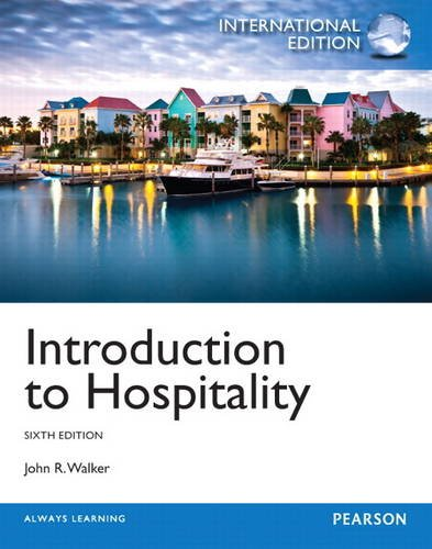 9780132993074: Introduction to Hospitality