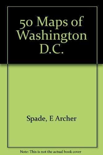 9780132993302: Spade and Archers 50 Maps of Washington D. C.