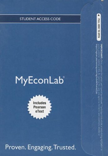 NEW MyEconLab with Pearson eText -- Access Card -- for Macroeconomics (MyEconLab (Access Codes)): ...