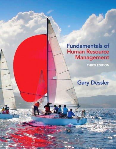 9780132994903: Fundamentals of Human Resource Management (3rd Edition)