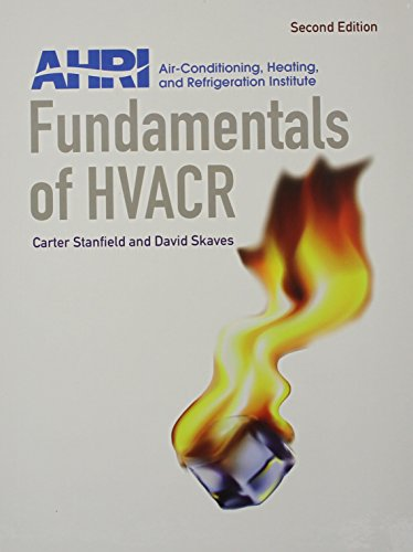 Fundamentals of HVACR and NEW MyHVACLab (2nd Edition): AHRI; Stanfield, Carter; Skaves, David