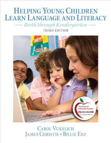 9780132995306: Helping Young Children Learn Language and Literacy: Birth Through Kindergarten Plus MyEducationLab with Pearson Etext -- Access Card Package