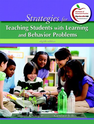 9780132995344: Strategies for Teaching Students with Learning and Behavior Problems Plus MyEducationLab with Pearson EText