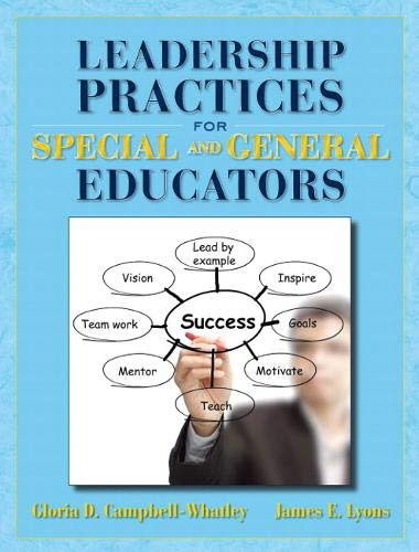 9780132996327: Leadership Practices for Special and General Educators
