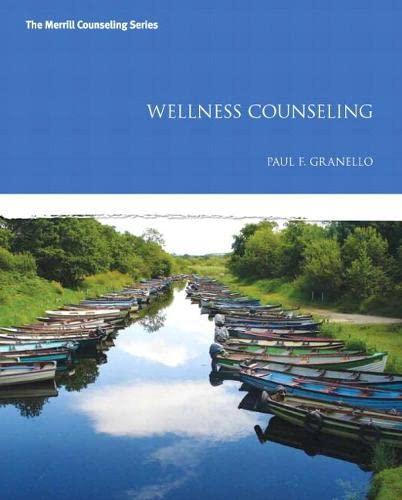 9780132996570: Wellness Counseling