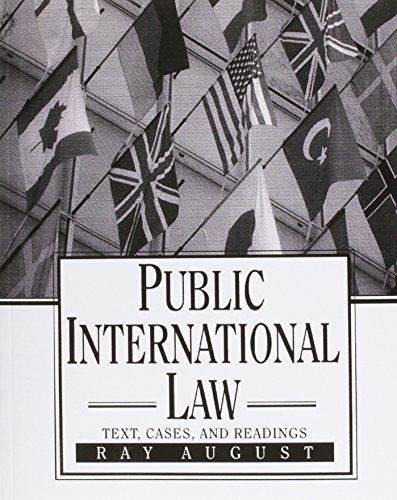 Public International Law: Ray August