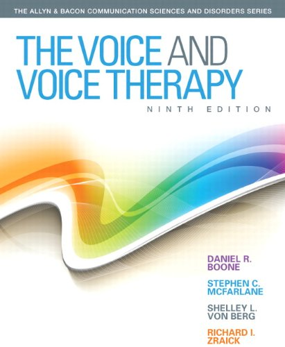 9780133007022: The Voice and Voice Therapy (9th Edition) (Allyn & Bacon Communication Sciences and Disorders)