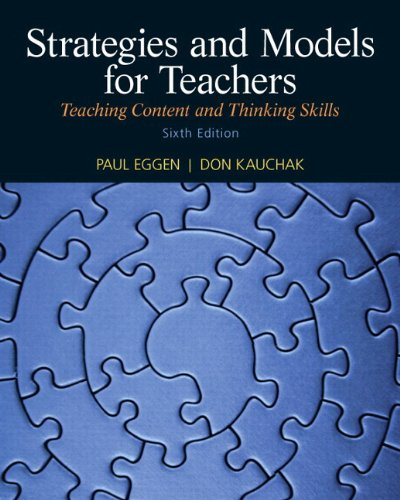 9780133007589: Strategies and Models for Teachers: Teaching Content and Thinking Skills Plus MyEducationLab with Pearson eText -- Access Card Package (6th Edition)