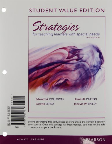 9780133007879: Strategies for Teaching Learners with Special Needs, Student Value Edition (10th Edition)