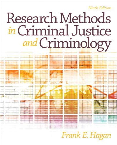 9780133008616: Research Methods in Criminal Justice and Criminology (9th Edition)