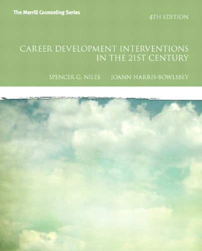 9780133012804: Career Development Interventions in the 21st Century, Student Value Edition (4th Edition) (The Merrill Counseling Series)
