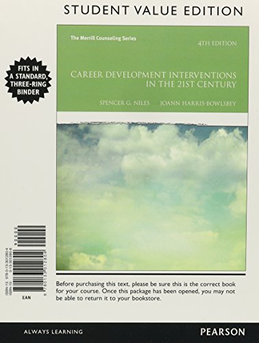 9780133015638: Career Development Interventions in the 21st Century, Student Value Edition Plus MyCounselingLab --Access Card Package (Merrill Counseling)