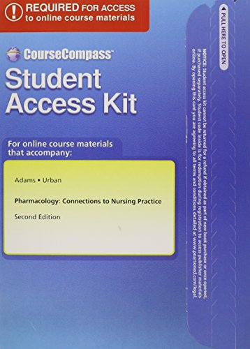 9780133016208: Textbook Resourses for Pharmacology: Connections to Nursing Practice -- Access Card