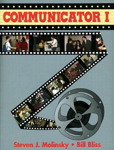 9780133016499: Communicator: Student Book Bk. 1: The Comprehensive Course in Functional English