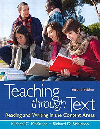 9780133017427: Teaching Through Text: Reading and Writing in the Content Areas Plus MyEducationLab with Pearson Etext