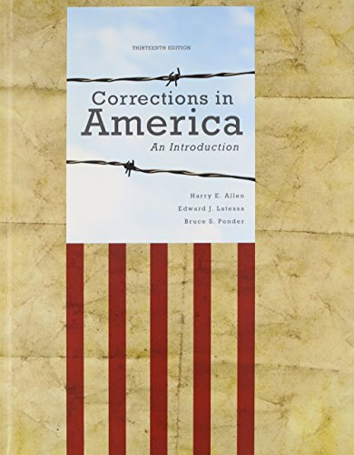 9780133018714: Corrections in America PLUS NEW MyCJLab Access Card (13th Edition)