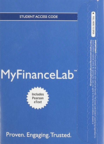 9780133019926: NEW MyFinanceLab with Pearson eText -- Access Card -- for Foundations of Finance