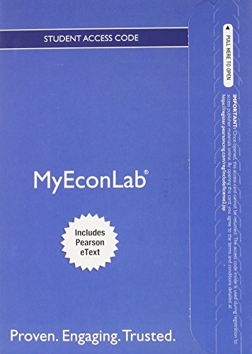 9780133020007: NEW MyEconLab with Pearson eText -- Access Card -- for Money, Banking, and the Financial System