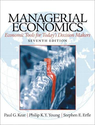 9780133020267: Managerial Economics (7th Edition)