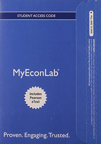 9780133021769: NEW MyEconLab with Pearson eText -- Access Card -- for Microeconomics