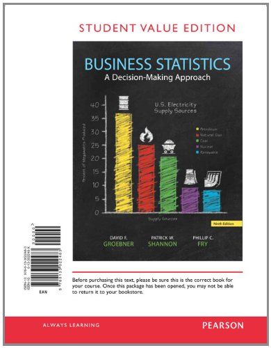 9780133022483: Business Statistics, Student Value Edition (9th Edition)